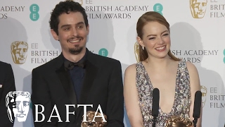 Emma Stone & Damien Chazelle's Funny Interview | BAFTA Film Awards 2017