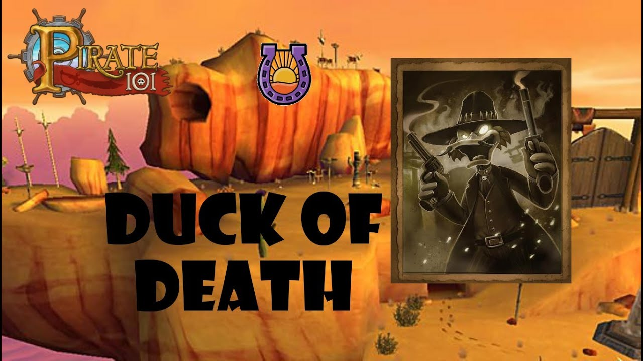 Pirate101 - Duck of Death (Solo) | FunnyCat TV