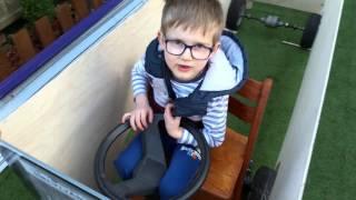 Csuklós gyerek Ikarus busz építése méretek ellenőrzése!