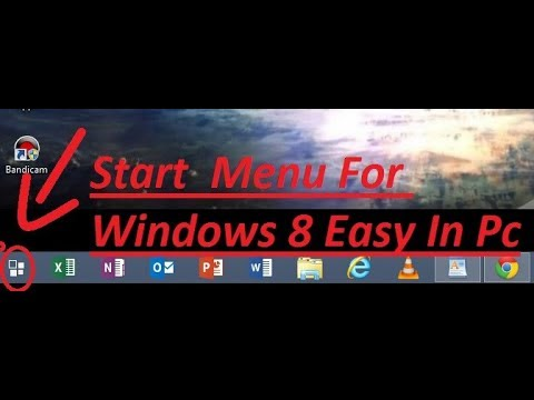 How to Get the Start Menu in Windows 8 pc october 2017 EASY TECHNIQUES SHAHROZ