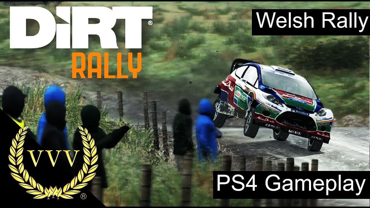 dirt rally ps4 gameplay wales youtube. Black Bedroom Furniture Sets. Home Design Ideas