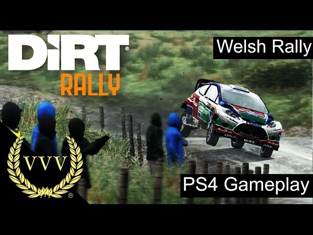 Dirt Rally PS4 Gameplay - Wales
