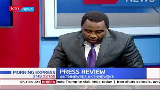 BBI agenda splits MT.Kenya leaders  PRESS REVIEW