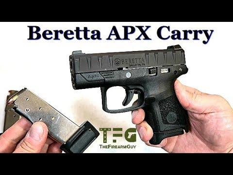 Beretta APX Carry (NEW 2019) - TheFireArmGuy