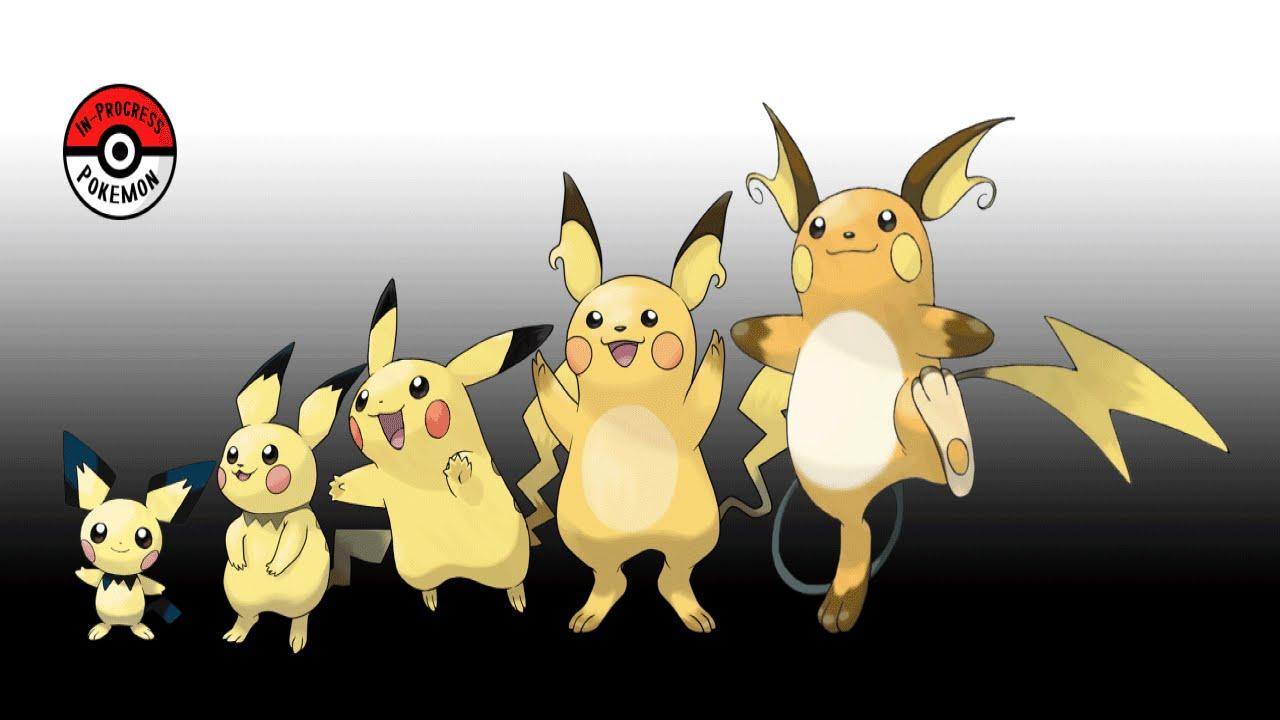 ポケモンの進化過程を描いたイラストが秀逸(in-progress pokemonから