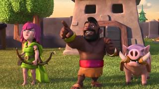 Clash Of Clans NEW Balloon & Tesla Trailer!