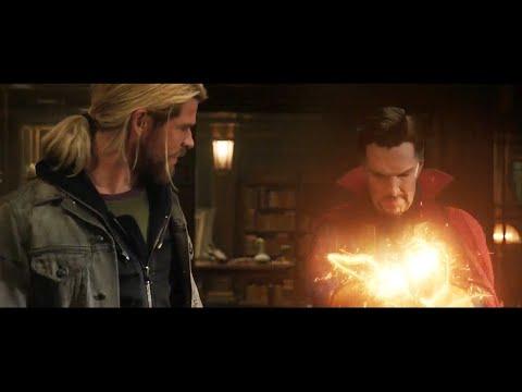 Thor Ragnarok Doctor Strange Avengers Infinity War Post Credit Scene