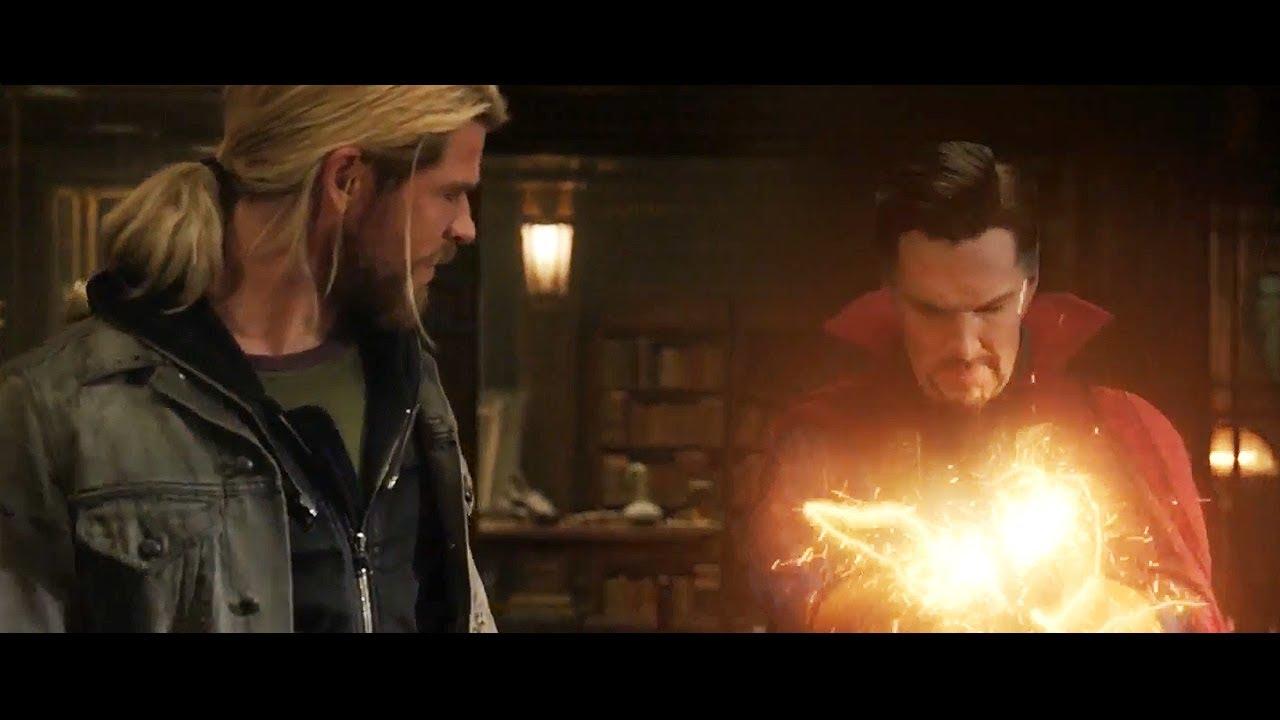 Thor Ragnarok Doctor Strange Avengers Infinity War Post Credit Scene -  YouTube