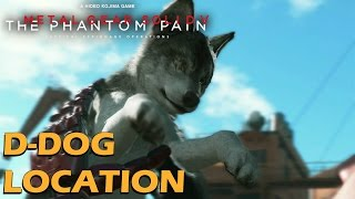 Metal Gear Solid 5 Phantom Pain - D-Dog Location / How To Get D-Dog