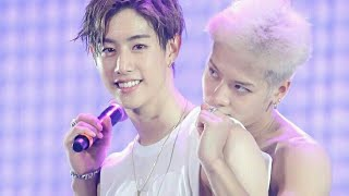 Really MARKSON moments. 😢❤ Got7 Mark and Jackson couple moments.