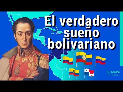 🇪🇨🇨🇴HISTORIA de la GRAN COLOMBIA en 12 minutos 🇵🇦🇻🇪