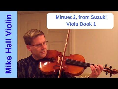 Minuet 2 - #16 from Suzuki Viola Book 1