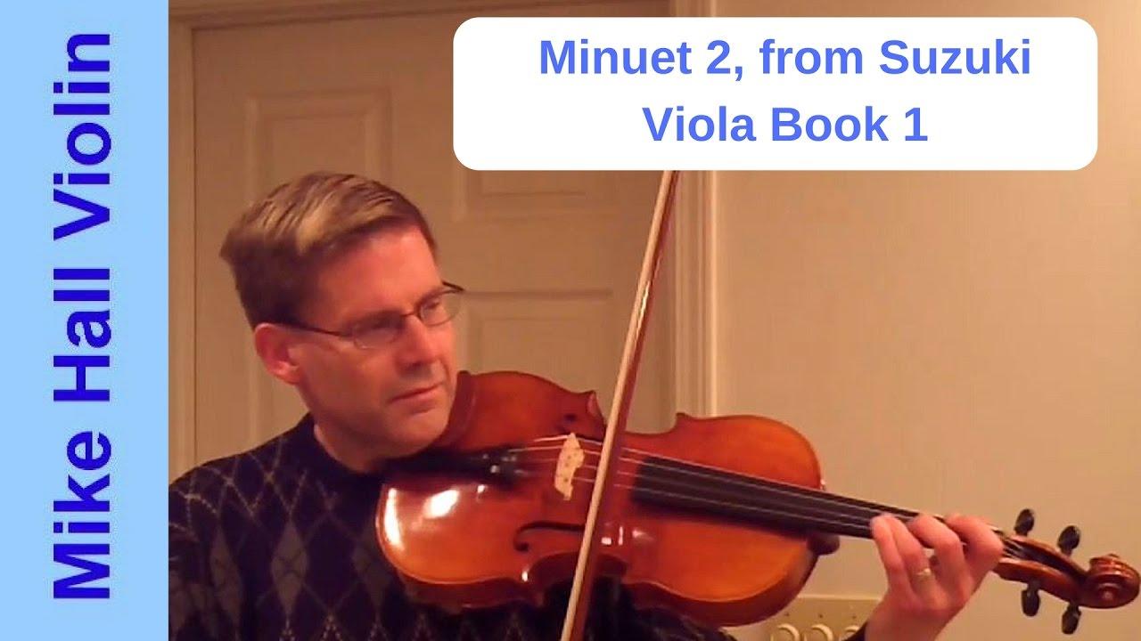 Minuet Violin Suzuki Book