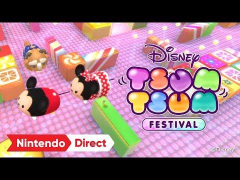 ディズニー ツムツム フェスティバル [Nintendo Direct 2019.2.14]