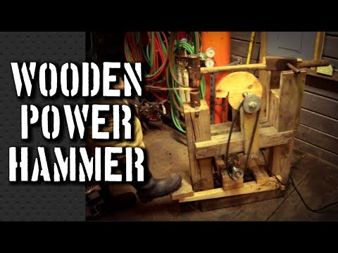 Cam 4 U >> How to Build a Power Hammer: My Power Hammer Plans for a ...