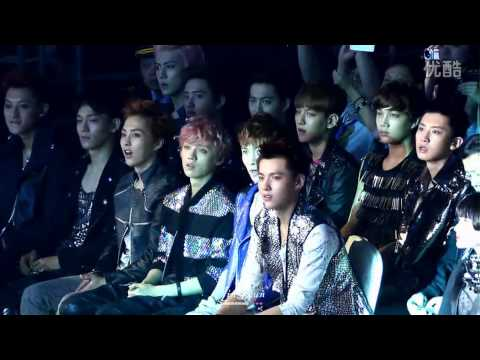 [Fancam] 130414 EXO's reaction LOL