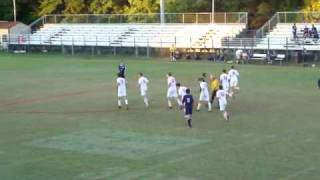 Jay Carroll Senior Night Goal 10/14/2010
