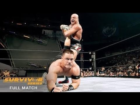 Full Match - John Cena Vs. Kurt Angle - Wwe Title Match: Survivor Series 2005