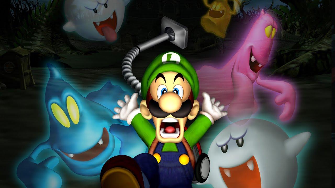 Luigi's Mansion 3ds Full Playthrough