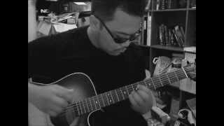 Ray Charles - Hit the road jack (fingerstyle cover)