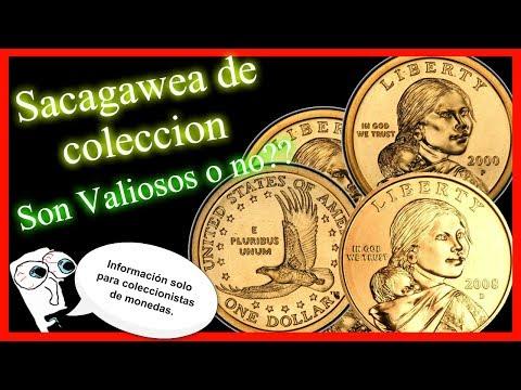 Dólares Valiosos??- Sacagawea normal 2000 a 2008- Precio y detalles.