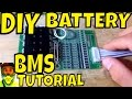 BMS Tutorial - How to wire the Battery Managementment System to most DIY electric bike batteries