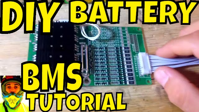 BMS Tutorial - How to wire the Battery Managementment System to most