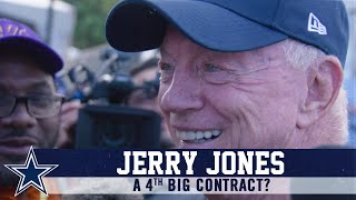 Jerry Jones: Talks Contracts And More   Dallas Cowboys 2019