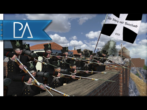 Great Prussia Defense: Napoleonic Fort Battle - Mount and Blade: Napoleonic Wars Gameplay