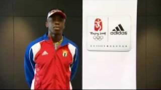 dayron robles cuba mens 110 meters hurdles gold medalist