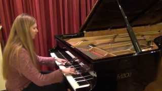 Chopin: Etude op. 10 no. 5 (Black Keys) Urska Babic
