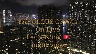 Hong Kong night view at 59th floor/ sls