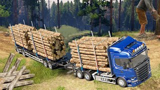 Wood Cargo Truck Driver Games Android Gameplay HD