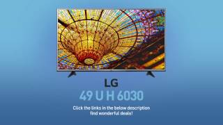 LG 49UH6030 4K UHD Smart LED TV - 49
