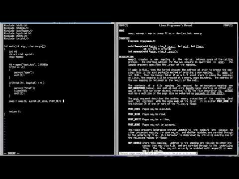 C Programming in Linux Tutorial #067 - Memory Map using mmap() Function