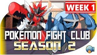 Pokemon Fight Club | SEASON 2 WEEK 1 [PFC Randomizer] Pokemon Showdown Battle League w/ Xylophoney