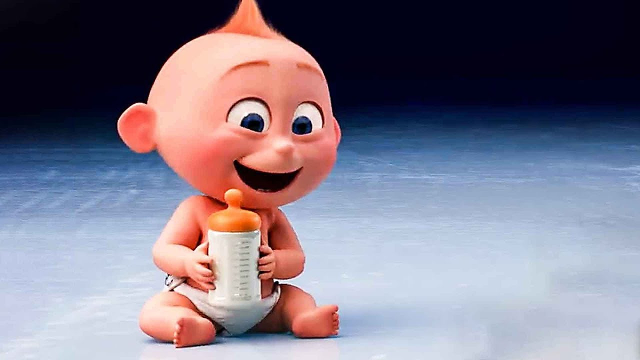 Incredibles 2 Funny Movie Clips With Baby Jack Youtube