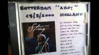 "STING - Tomorrow We'll See (Rotterdam 17-03-2000 ""Ahoy"" Holland) (Audio)"