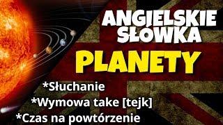 Planety układu słonecznego po angielsku
