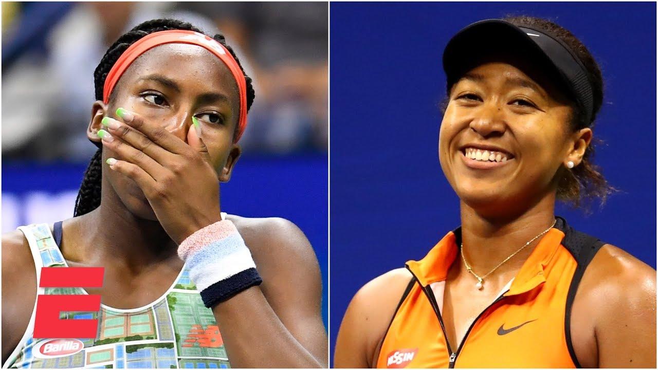 Coco Gauff defeats Venus Williams as Roger Federer, Naomi Osaka ...