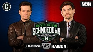 Mike Kalinowski VS Jared Haibon & Modok VS Critically Acclaimed - Movie Trivia Schmoedown
