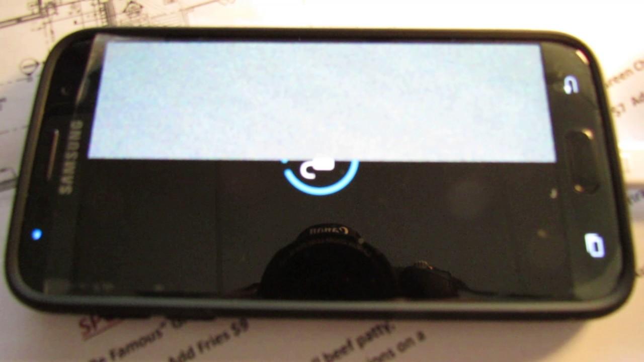 Galaxy S7 Screen Failure