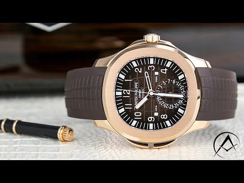 89e8a34fef57b Patek Philippe Aquanaut Travel Time Rose Gold Tiffany and Co Dial ...