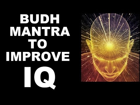 BUDH/MERCURY MANTRA FOR INTELLIGENCE/ IQ : VERY POWERFUL !