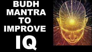 budhmercury mantra for intelligence iq very powerful