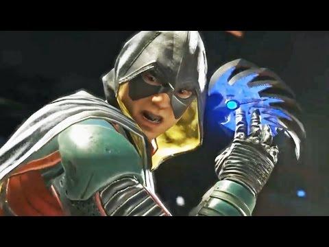 Injustice 2 Gameplay - Batman vs Robin Fight Trailer