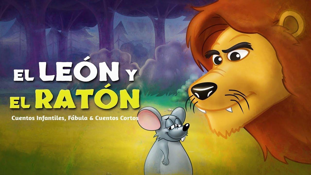 El León y el Ratón | Cuentos infantiles para dormir