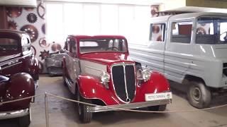 Музей ретро автомобилей в Уфе