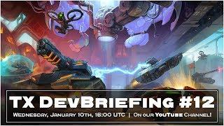 Tanki X Live DevBriefing #12