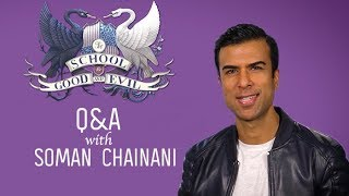 Q&A with Soman Chainani   The School for Good and Evil